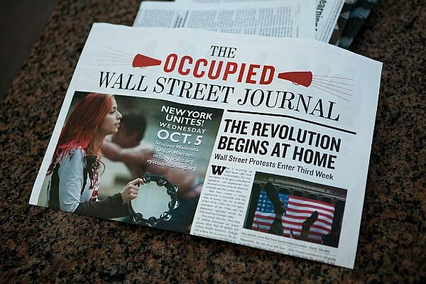 Courtesy Occupied Wall Street Journal