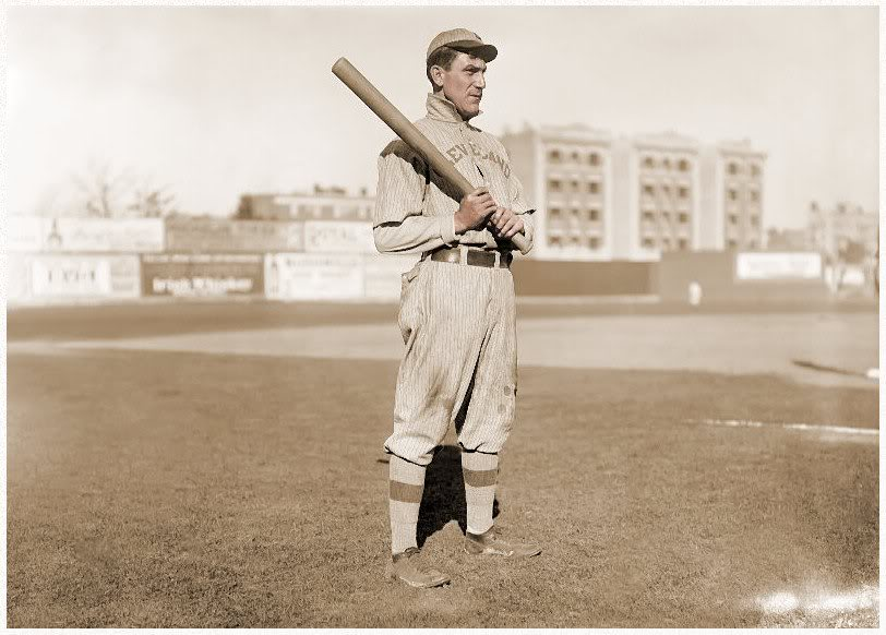 Nap Lajoie, beloved by Clevelanders and batting nemesis to Ty Cobb.
